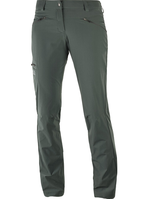 Salomon Wayfarer Pants Women Regular urban chic